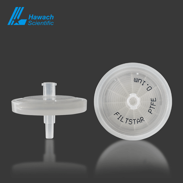 0.1 um Hydrophilic PTFE syringe filters