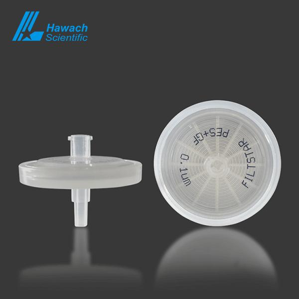 0.1 um PES syringe filters