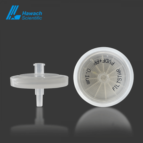0.1 um PVDF syringe filters