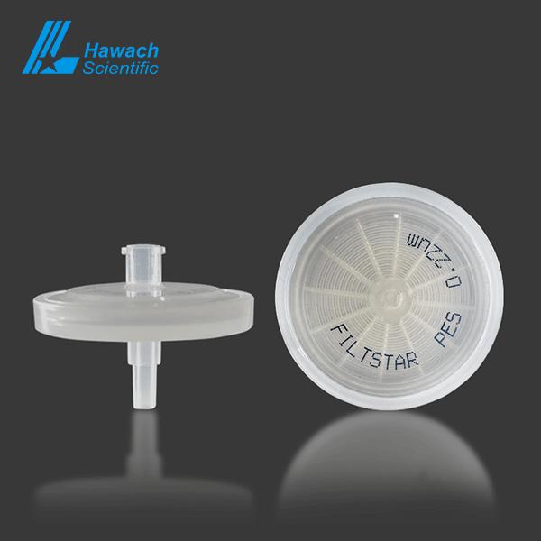 0.22 pre-filter PES syringe filters