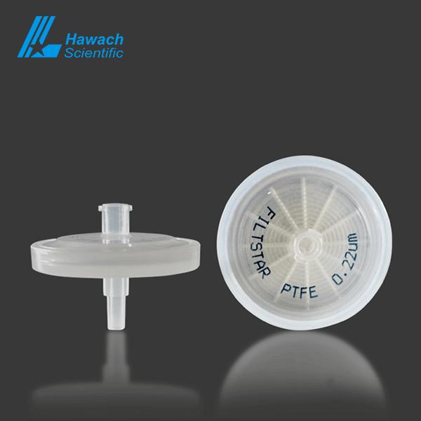 0.22 um Hydrophilic PTFE syringe filters