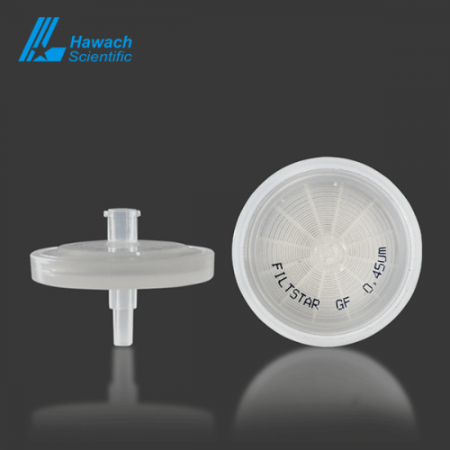 0.45 glass fiber syringe filters
