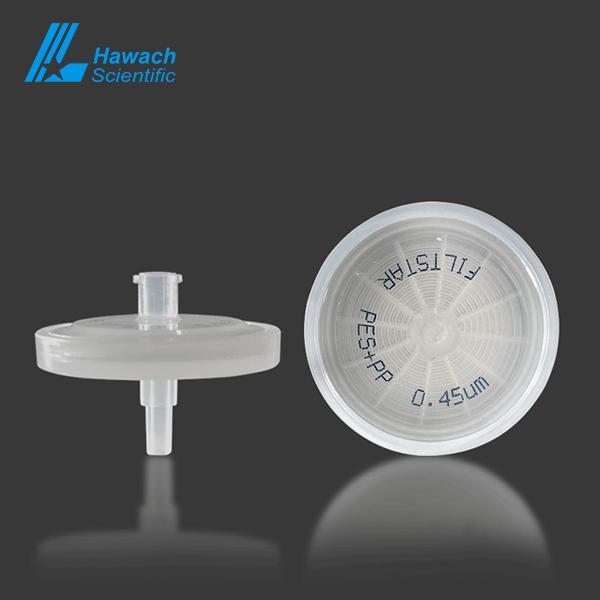 0.45 um PES syringe filters