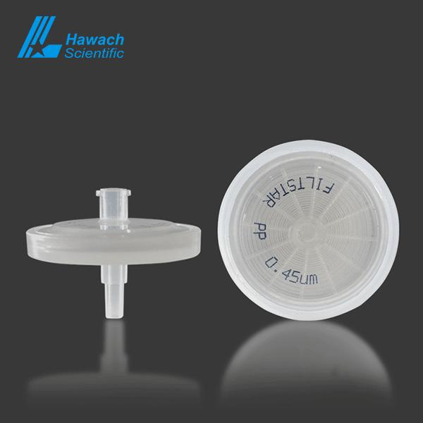 0.45 um PP syringe filters