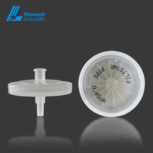 0.45 um PTFE syringe filters
