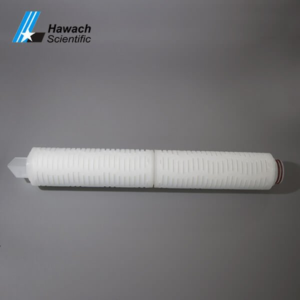 20 inch Polyvinylidene Fluoride Membrane Pleated Filter Cartridges