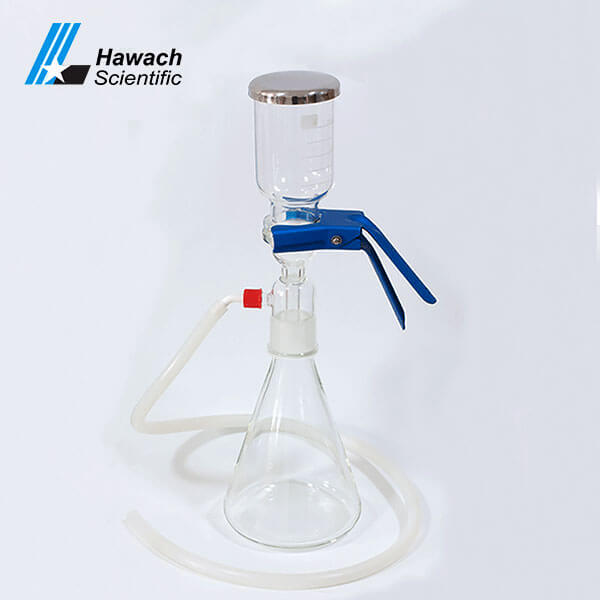 500ml Glass Solvent Filters