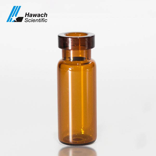 Amber Crimp Top HPLC Sample Vials