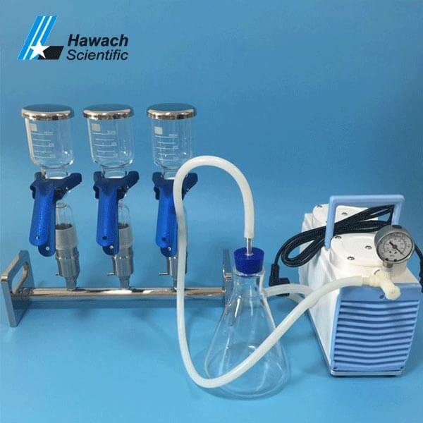 Three-Branches Vacuum Filtrations
